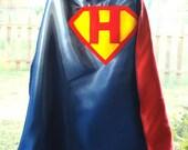 Custom Initial Superhero Cape
