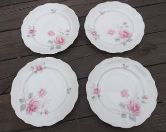 vintage china dinner plates by forest in moonglow pattern - China Dinner Plates