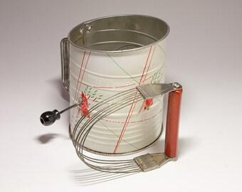 Vintage Bakelite Androck Dough Blender. Red Bakelite - circa 1930's