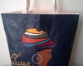 Obabirin- Africa Tote Bag
