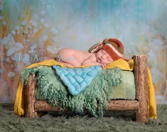 Newborn Photo Props, Newborn Tassel Hat, Newborn Boy Sleepy Cap, Newborn Baby Stocking Cap, Knit Newborn Hat, Striped Newborn Hat, Baby Hat