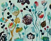 Flower Art Print 8x10/ Nursery Print/flower painting /wild flowers