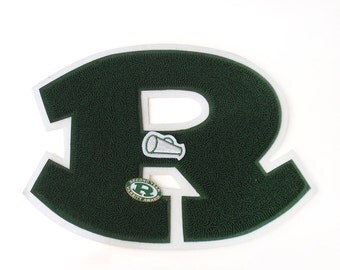 Vintage Varsity Letter with Varsity Pin