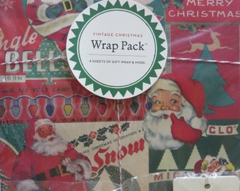 Christmas Paper Pack-Vintage Style