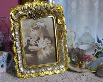 Gold Ornate Rococo Frame