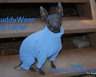 """BuddyWear 1st Layer Thermals for Layering, will fit all dogs up to 18"""""""