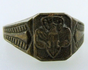 Vintage Girl Scout Ring