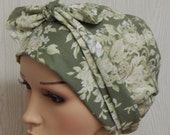 Cancer head covering, chemotherapy bonnet, chemo head wear, cancer head wrap, chemo headscarf, hair loss head scarves, chemo caps