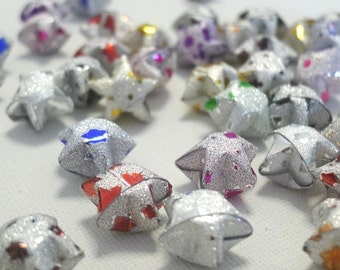 80 - Starry Night - Magical Star Dust Origami Lucky Stars