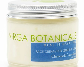 Sensitive Skin Chamomile Cucumber Extraordinary Face Cream - 2oz.