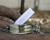 Bracelet by FortuneKeeper -Brooklyn Bridge- Adjustable Bracelet Holds All That Inspires You