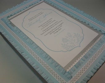 Bar/ Bat Mitzvah Keepsake Box