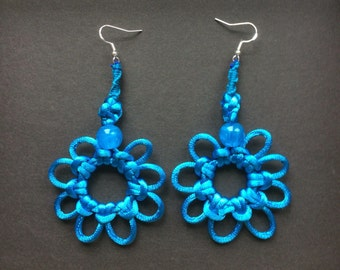 A Pair of Special (Hand Line) Earrings