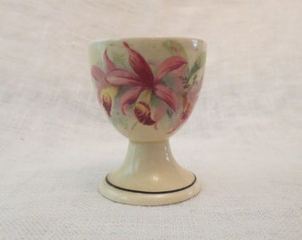 Beautiful Royal Doulton Orchid Egg Cup