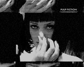 ON SALE Pulp Fiction alternative movie poster