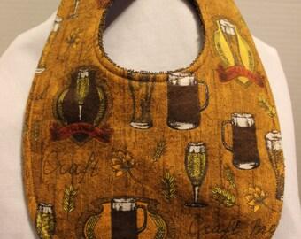 Home Brewing Flannel / Terry Cloth Bib