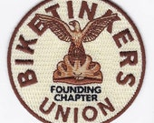 "3.25"" Biketinkers Union patch"