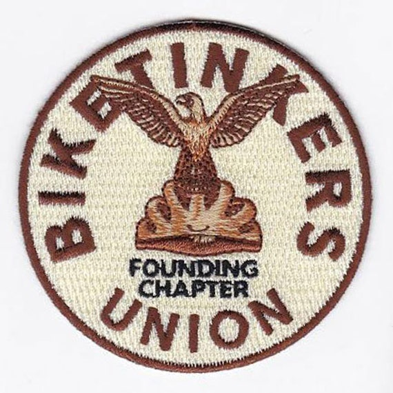 "Biketinkers Union patch (3.25"" diameter)"