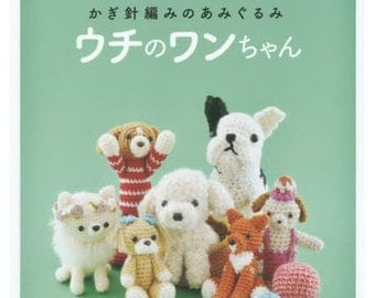 How to make My Cute Dogs Zakka and items  Japanese Craft Book