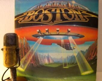 "Boston Vinyl Record Album 1970s Classic Rock Guitar Electric Guitar Tom Scholz ""Don't Look Back"" (1978 CBs w/""Feelin' Satisfied"")"