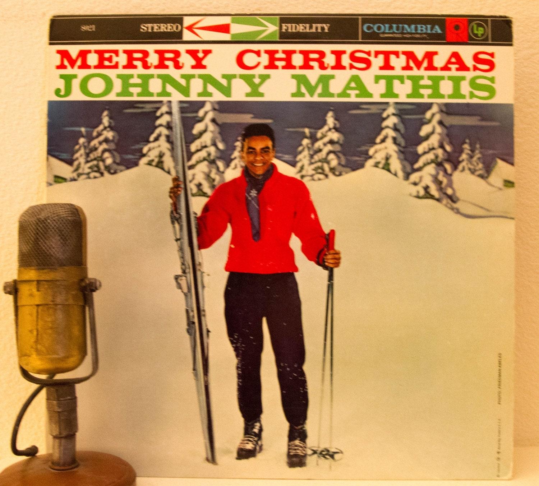Johnny Mathis Christmas Music Album 1950s Classic Christmas