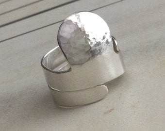 Clawhammer Thimble, Sterling Silver, Custom Handmade