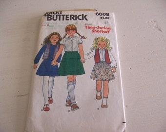butterick # 6608 size 6 pattern
