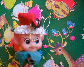 little pixie elf head decoration