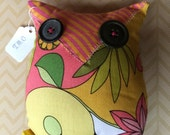 Owl plush Stuffed owl