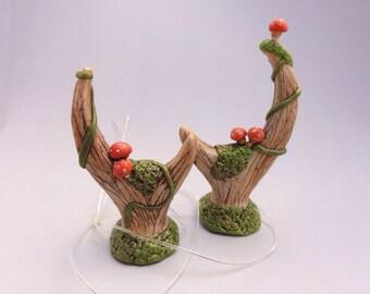Mushroom Glen Stag horns by Marie Segal