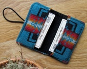 Business Card Holder, Card Case, Credit Card Case, Pouch, Gift Card Holder, Coupon Pouch - Chief Joseph Pattern