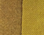 Indian Moon Gold - hand dyed rug hooking wool fabric -  (1) Fat Quarter (2)  values available