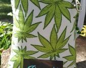 XL, Mini Rig, Bubbler, Pipe Bag, Marijuana, Print, Cannabis, Print, Padded, Pipe Pouch, Pretty Pouches, Glass Pipe Bag, Pipe Cozy