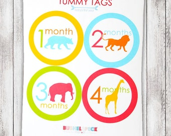 Animal Parade TUMMY TAGS