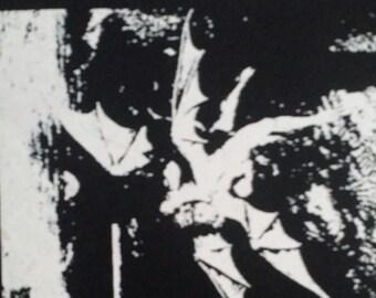 sgc bat cave punk goth deathrock icon punk patch