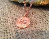 Copper Elephant Necklace...