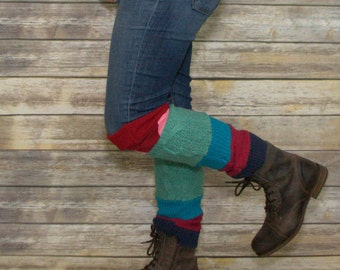 Sweater Leg Warmers -Boot Warmers -Upcycled Leg Warmers -Boot socks -Winter Leg Warmers -Handmade Leg Warmers -Boot Topper - Accessories