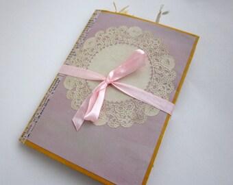Tea Dyed Mini Junk Journal