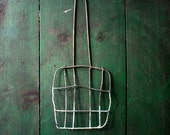 Antique Vintage Primitive Metal Wire Form / Sandwich Maker / Fly Swatter / Campfire Tool