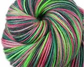 SALE - AHI POKE: Superwash Merino Wool-Nylon-Cashmere - Fingering / Sock Weight Yarn - Hand dyed sock yarn - Indie Variegated Hawaii yarn