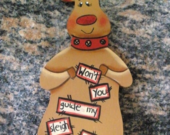 Rudolph the Reindeer Ornament