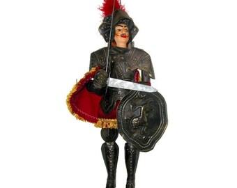 Rare Vintage Sicilian Soldier Marienette/ Puppet