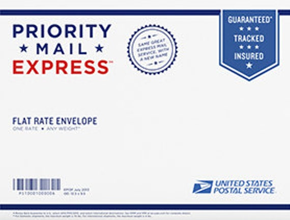 Upgrade Priority Mail Express 1-2 days