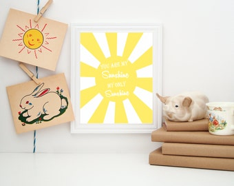 You Are My Sunshine Wall Decor sunshine wall decor | etsy