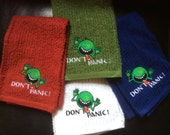 Don't Panic! Hitchhikers Guide Kitchen Hand Towels