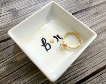 Ring Dish - Limited Edition Small Square Ring Holder