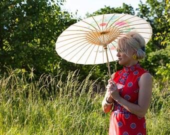 Summer Shangri-la Vintage Maxi Dress