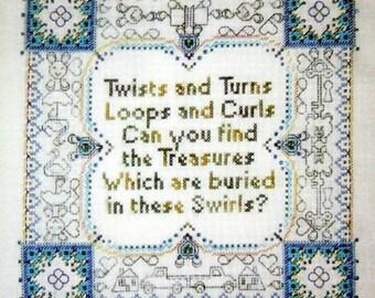 Magic Carpet Ride - Designed by Lynne Nicoletti - Cross Stitch Chart