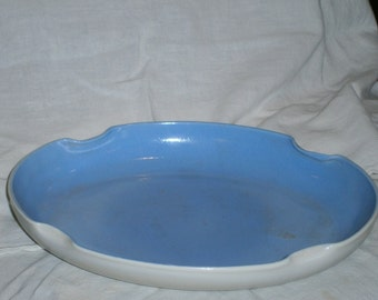 Vintage Blue and White Console Dish
