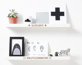 Personalised Nursery Shelf